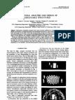 Simulating the Behaviour of Three Dimensional Reticular Structures
