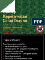 Konsep Keperawatan Gawat Darurat & Disaster