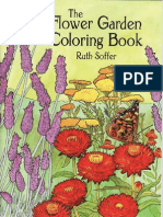 Flower Garden Coloring Book