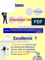 Excellence through Emotional Intelligence
