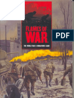 WD003 Flames of War - 1st Ed Rulebook