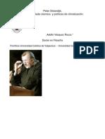 Rocca - Peter Sloterdijk; Esferas, Helada Cósmica Y Políticas De Climatización