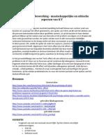 E-Vaardigheden Davey Polfliet Preventiefilm Maatschappelijke en Ethische Aspecten Van ICT