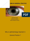 Eye Problems in Gp - With Pictures