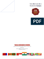 Taxila Business School Prospectus 2013