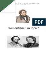 Romantismul în muzică da