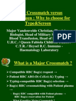Major Crossmatch Versus TypeScreen