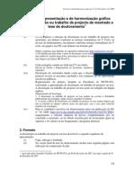 Normas de apresentação e de harmonização gráfica - 2009