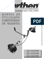 ROÇADEIRA LATERAL - CG-430HW