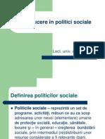 Introducere în politici sociale 2011-curs1