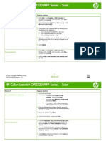 HP Color LaserJet CM2320 MFP Series - Scan