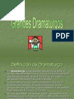 Grandes Dramaturgos.ppt