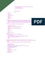 Fortran Vjezbe 2