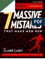 Seven Massive Mistakes