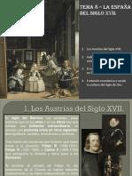 España siglo XVII