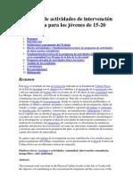 Propuesta de actividades de intervención comunitaria para los jóvenes de 15.docx