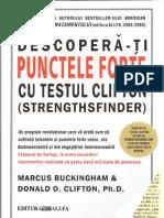 7502450 Marcus Buckingham Donald O Clifton Descoperati Punctele Forte Cu Testul Clifton
