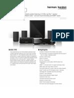 Specification Sheet - BDS 770 (English EU)