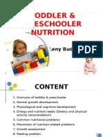 Toddler & Preschooler Nutrition