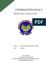 Laporan Praktikum Fisika Dasar II - FREKUENSI LISTRIK