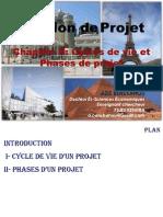 Chaopitre II- Phases et cycles de vie d'un projet.ppt
