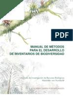 Metodos Inventarios Biodiversidad