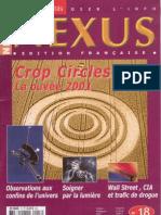 Nexus 18 jan fev 2002 - crop circles, univers, luminothérapie, wall street & drogue