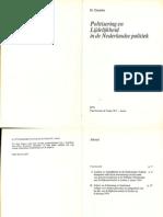 Leiding en lijdelijkheid in de Nederlandse politiek