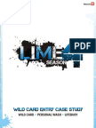 LIME 4 Case Study Wild Card Lifeboy