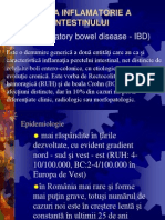 Boala Inflamatorie a Intestinului Subtire