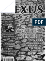 Nexus 28 sept oct 2003 - HAARP, uranium appauvri, peuple de géants