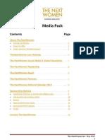 The NextWomen Media Pack 2013