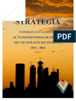 Strategie Cnipmmr 2012 2016