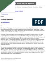 Death in Kashmir
