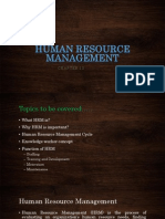 HRM ( Human Resource Managment )