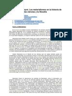 Alexandre Koyré - Los materialismos en la historia de la ciencia y la filosofía