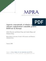 Aspecte Tehnice Si Conceptuale Privind Contabilitatea IMM Urilor