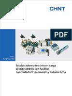 B10 Catalogo Tecnico - Seccionadores y Conmutadores