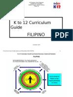 K to 12 Curriculum Guide Filipino (Pamantayang Pangnilalaman - Pamantayan sa Pagganap)