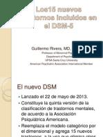 Los 15 Nuevos Trastornos Descritos en El DSM-5