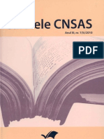 Caiete CNSAS Nr 5 2010