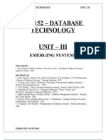 database technology unit 3 pdf for pg students