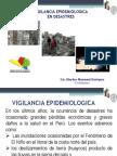 Vigilancia Epidemiologica en Desastres