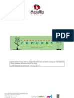 Primera convocatoria de Laboratorios Comunes de Creación MODIFICADA  21 Mayo