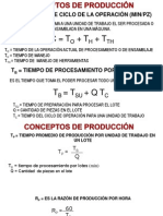calculos produccion