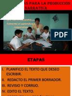 ESTRATEGIAS PRODUCCIÓN NARRATIVA VI- C.
