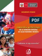 Anexo 01 ESAN - Consejeria Nutricional en Salud Materno Infantil