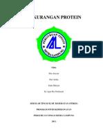 Kekurangan Protein