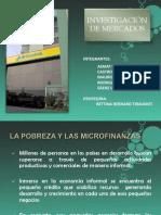 Microfinanzas- Invest. d Mercados