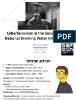 John McNabb - Cyberterrorism & Drinking Water Security - Revised